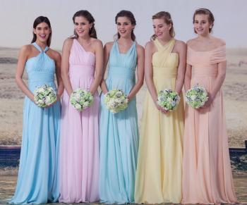 Красивые платья для подружек невесты