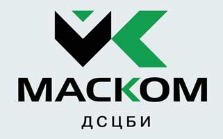 "Логотип компании ""МАСКОМ, ДСЦБИ"""
