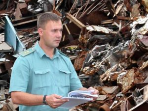 С сентября 2019 г. установлена квота на вывоз из России отходов и лома черных металлов