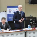 руководитель регионального отделения РСПП Роман ТИТКОВ, председатель Думы города Владивостока Андрей БРИК