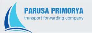 """Логотип компании """"Паруса Приморья, транспотно-логистическая компания"""""""