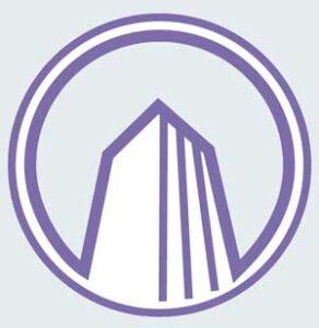 Логотип компании Радамант-плюс, архитектурное бюро