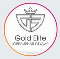 Логотип компании Gold Elite, ювелирная студия