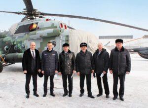 Рабочий визит на Улан-Удэнский авиационный завод
